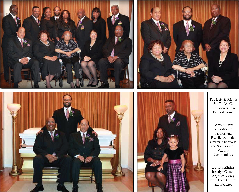 A C  Robinson & Son Funeral Home, Inc    Elizabeth City, NC